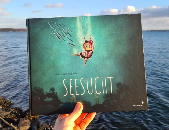 Meine Seesucht - meine Sehnsucht: Blogparade zu einem einzigartigen maritimen Kinderbuch. Buchvorstellungen zum Bilderbuch von Jonas und seinem Leben im Meer.