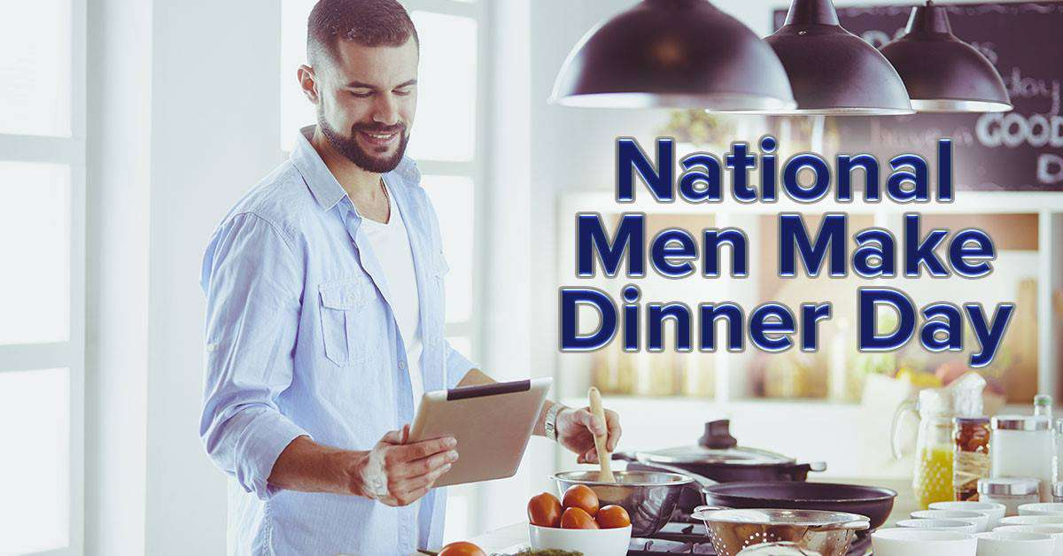National Men Make Dinner Day Wishes Sweet Images