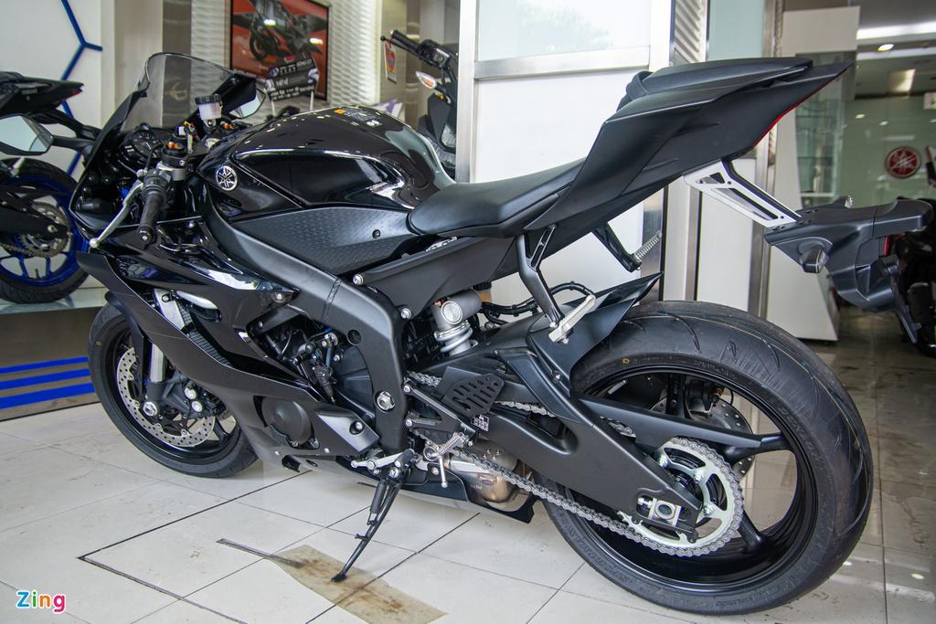 Yamaha YZF-R6 2020 về VN - nhập khẩu tư nhân, giá từ 599 triệu