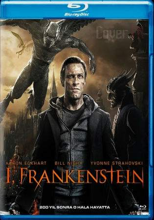 I Frankenstein 2014 BRRip 850MB Hindi Dual Audio 720p