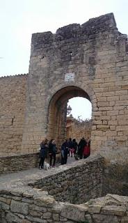 Portal de la Virgen de Peratallada.
