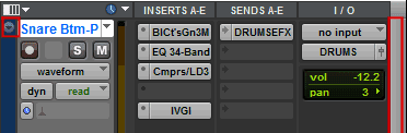 Increase the size of the track view in Avid Pro Tools
