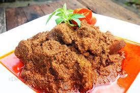 Rendang Indonesian special food