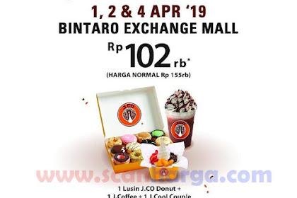 Jco Spesial Promo Grand Opening Bintaro dan Grage Mall Cirebon April 2019