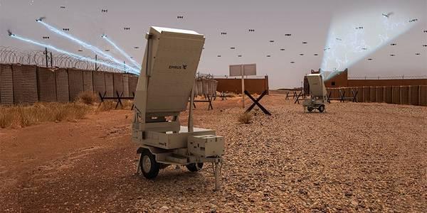La spara microonde per buttare giù i droni
