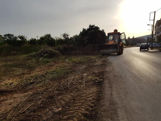 Σαρώνουν όλο τον Δήμο Ναυπλιέων τα συνεργεία καθαριότητας και πρασίνου