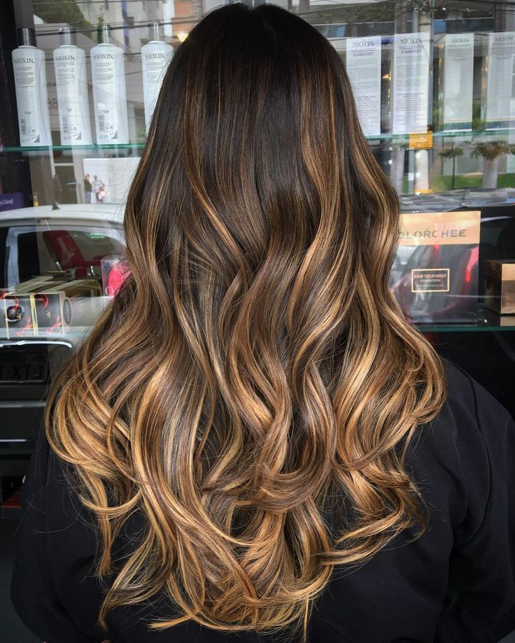 Hair Color Styles: Golden Highlight for Hair | FavHairstyles