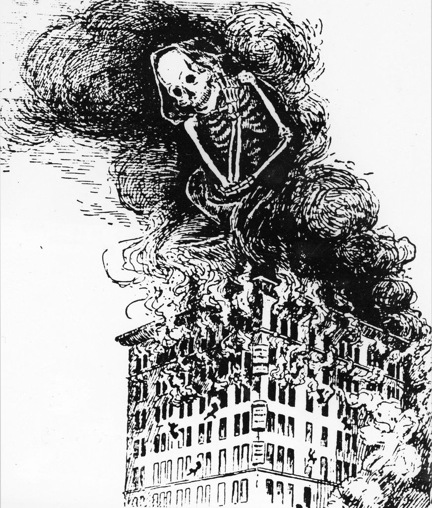 random notes: geographer-at-large: They will be remembered Triangle Shirtwaist Fire Book