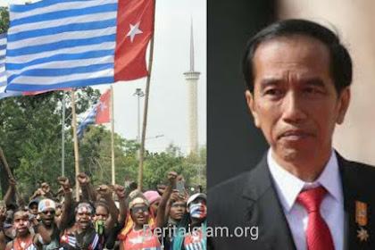 Dimana Jokowi Saat Bendera Bintang Kejora Dikibarkan?
