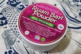 Ruam Bayi Powder - Merawat pelbagai jenis penyakit kulit termasuklah Eczema dan Psoriasis