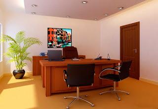 ديكورات مكاتب حديثة (٢)