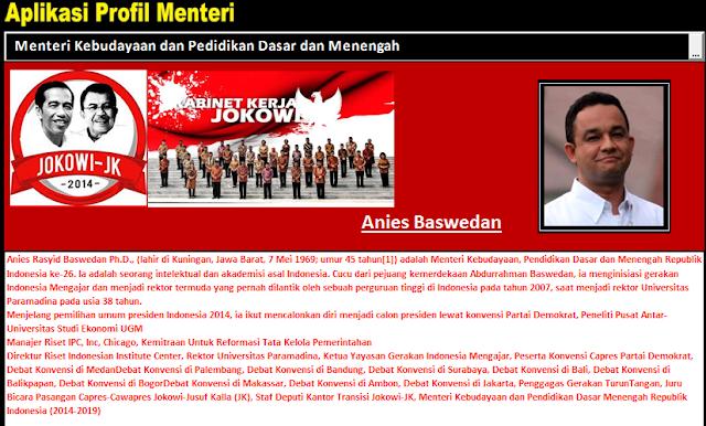 Menteri Jokowi-JK Untuk Pendidikan