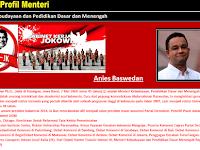 Aplikasi Profil Kementrian Jokowi JK Lengkap