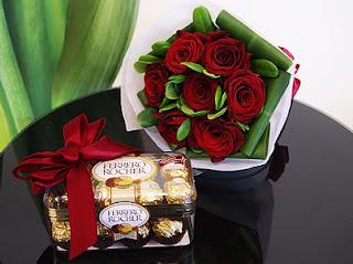 Bunga Dan Coklat Di Alam Sutera