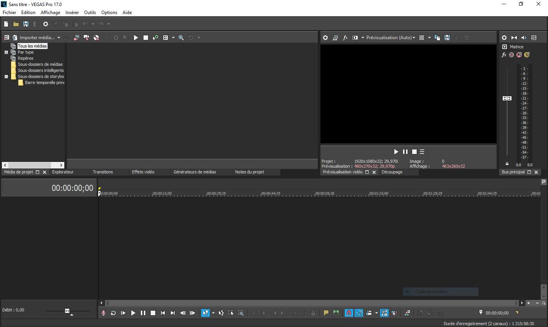 تحميل برنامج من أفضل البرامج لتحرير الفيديو والصوت متعدد المسارات MAGIX VEGAS Pro 17.0.0.353