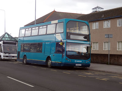Local Arriva Buses.