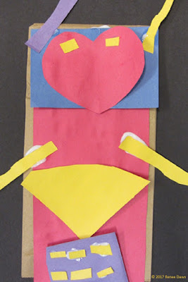 Valentine's Day Robot Craft