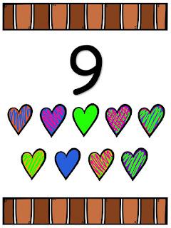 Números del 1 al 20 para imprimir
