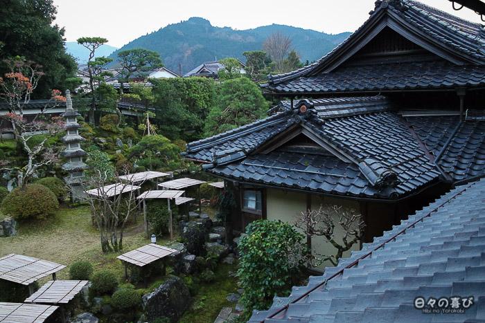 Toits, maison Ishitani, Chizu, préfecture de Tottori
