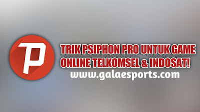Cara Setting Psiphon Pro Agar Support Game Online