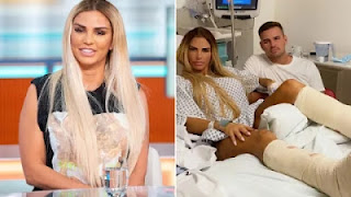 Katie Price 'banned from s.e.x for two weeks' after breaking both feet in horror tumble