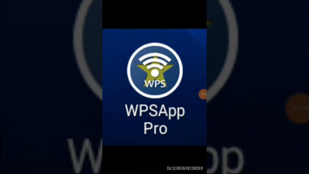WPSApp PRO: Obtener clave de red wifi con y sin root en android