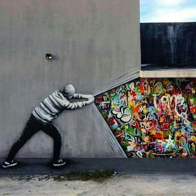 """""""Pull tha Cover off Your Color"""" #STREETART"""