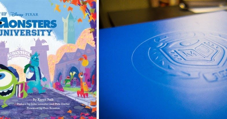 the art of monsters university detailed book review