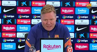 Koeman furious with Spanish press after been asked about Eric Garcia signing again