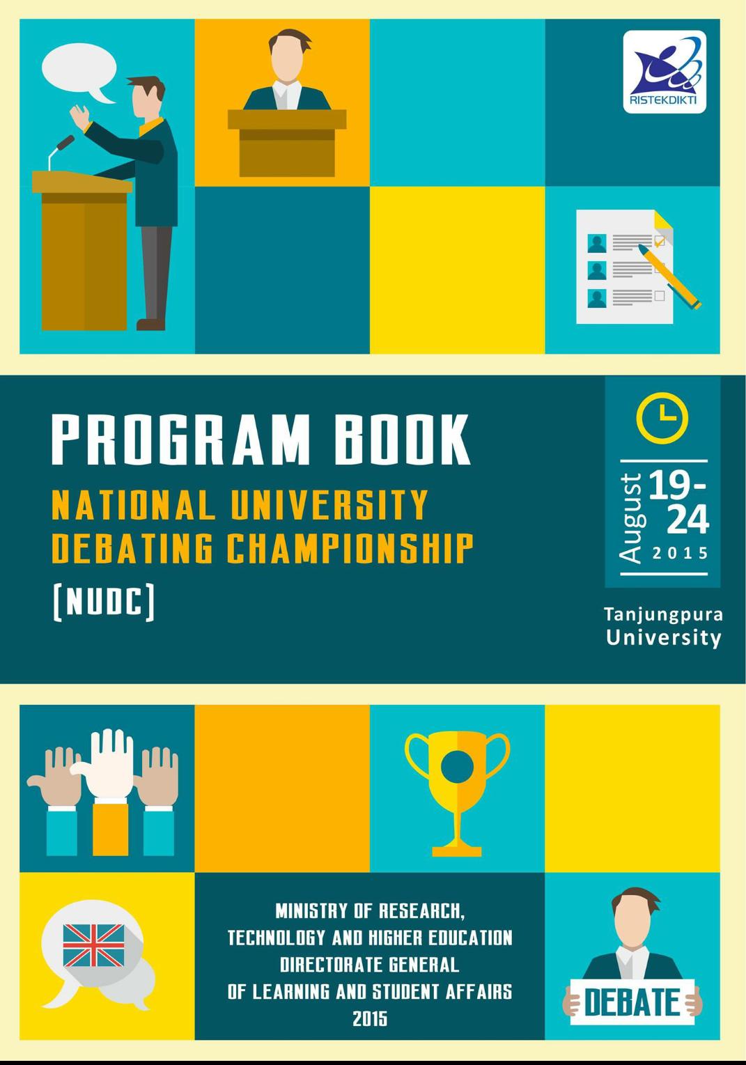 Debat Bahasa Inggris National University Debating Championship