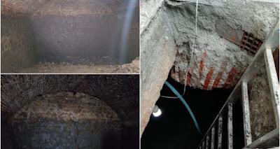 Κατασκευή της βυζαντινής περιόδου ανακαλύφθηκε κάτω από εστιατόριο!