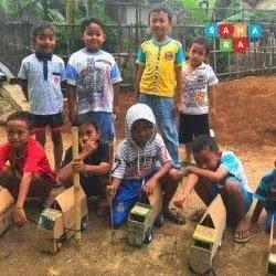 Cemaskan Efek Negatif PJJ, Pemuda di Banjarnegara Bentuk Komunitas Pendidikan Saung Sahara