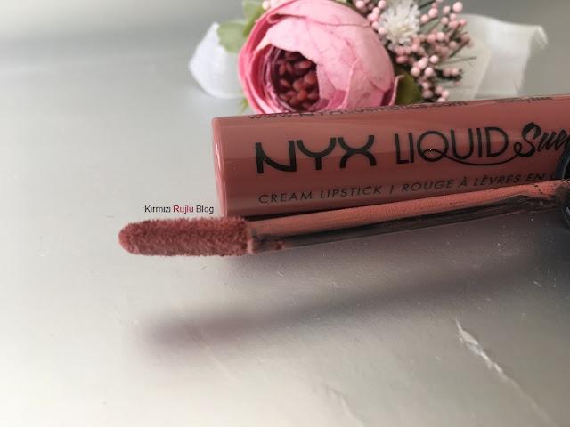 NYX Liquid Suede Mat Rujlar