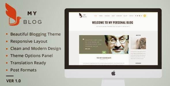 MyBlog - Responsive Blog Magazine Theme