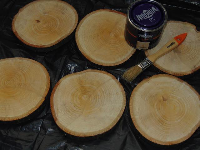 jak zrobić drewniane podkładki