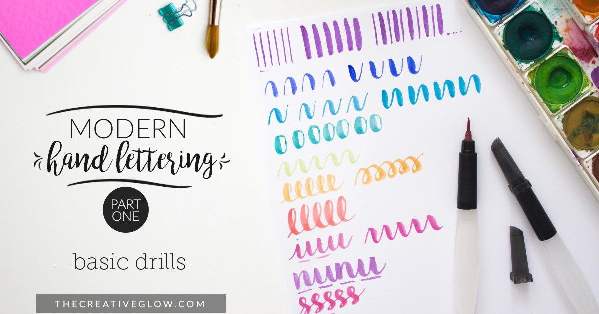 Modern Brush Lettering Series