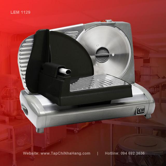 Máy cắt thịt LEM 1129 - thái thịt chín, thịt đông lạnh