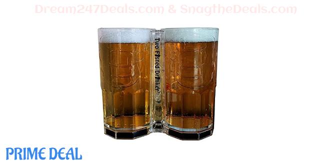 45% OFF Two Fisted Drinker Beer Mug