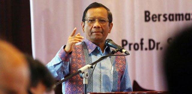 Mahfud MD Jawab Sohibul Iman Soal Tak Bisa Apa-apa Untuk Benahi Penegakan Hukum