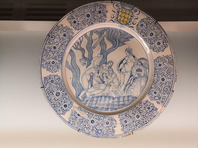 Il piatto che rappresenta la storia di Callisto e Artemide