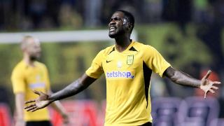 Super eagles striker announces Aris Thessaloniki exit