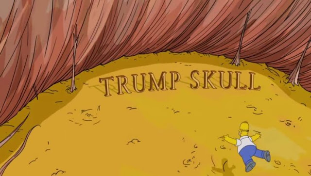 Hace 16 años, Los Simpson predijeron que Trump era presidente