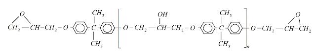 estrutura quimica resina epoxi