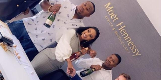 #BBNaija 2019: Mercy bags endorsement deal with Moet & Chandon