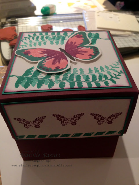 Exploding Box - Narelle Fasulo - Simply Stamping With Narelle
