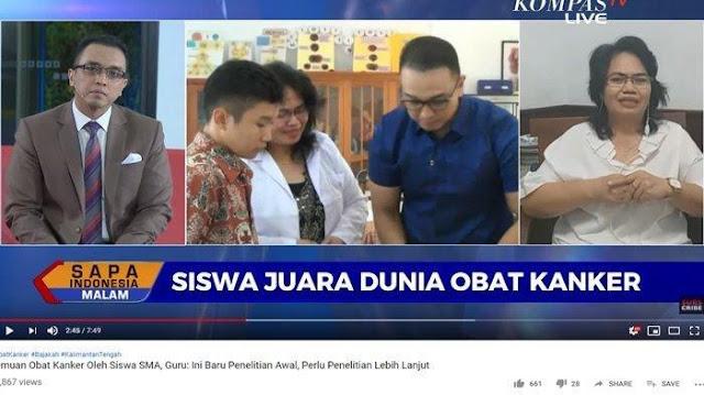 Keamanan Tiga Siswa Penemu Obat Kanker Dikabarkan Terancam, sang Guru Berikan Penjelasan