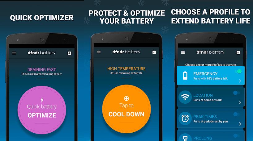 dfndr battery aplikasi untuk menghemat baterai android