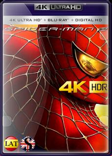El Hombre Araña 2 (2004) REMUX 4K UHD HDR LATINO/ESPAÑOL/INGLES