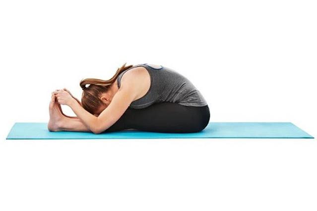 Bài tập yoga tăng cường sức khoẻ Paschimottanasana