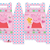 Peppa Pig with Dog: Free Printable Lunch Box.